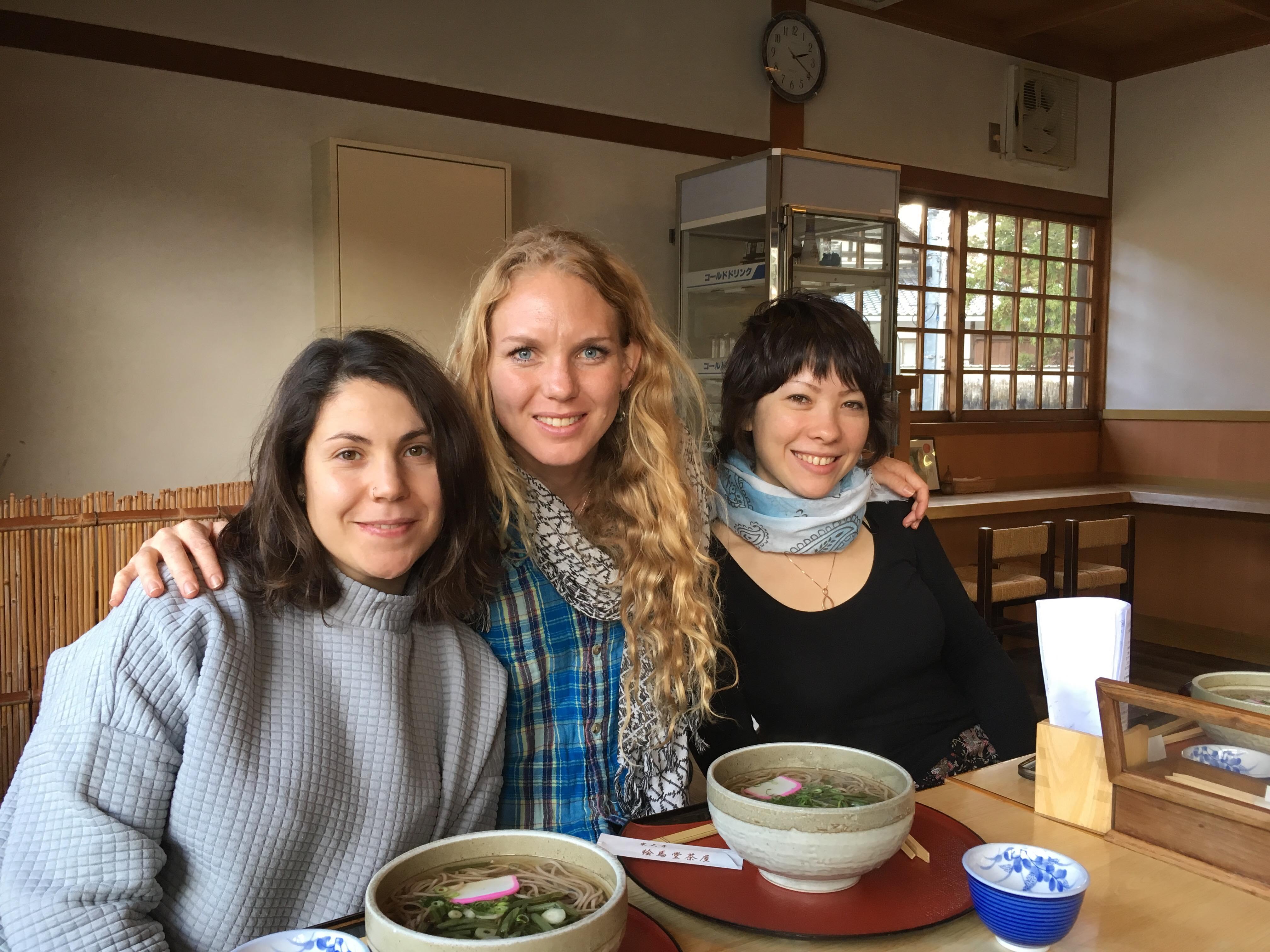 Monica, Catherine & Laura, Tokyo