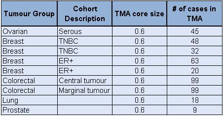 BBRS TTR TMAs