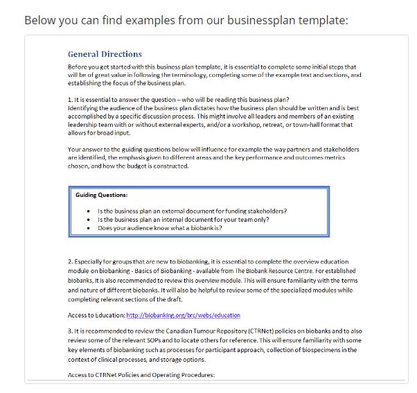 BBRS business plan 1pg